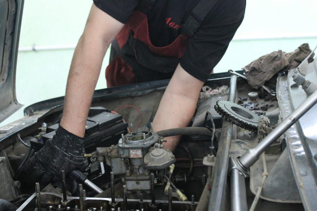 Ремонт двигателя в Липецке